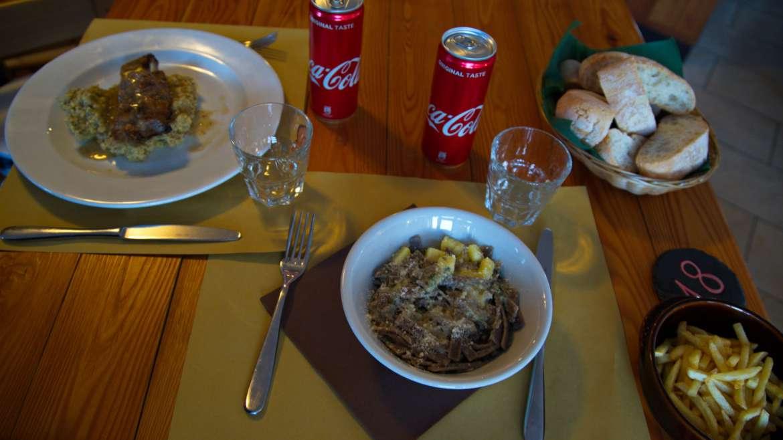Colazioni, aperitivi e cucina tipica